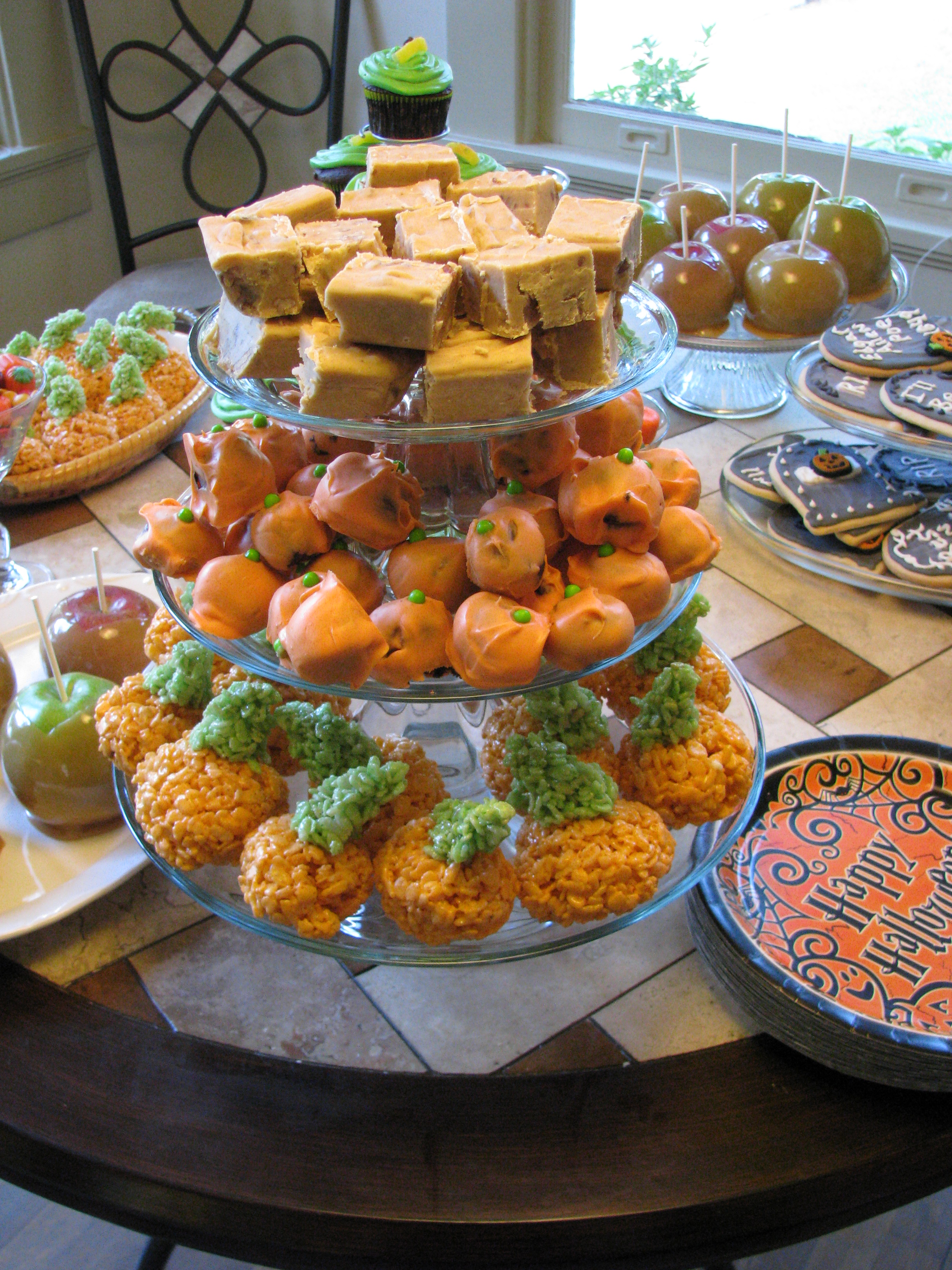 The Halloween Party Part 2–Desserts!   Bayou-Mama