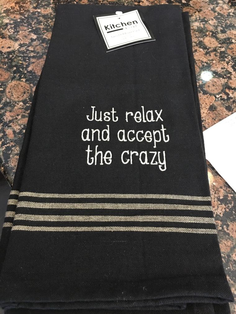 towel